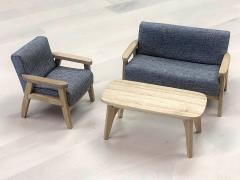 Extreme-Sets Furniture Collection 1/12 Scale Modern Couch Set