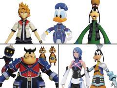 Kingdom Hearts Select Wave 2 Set of 3 Multi-Packs