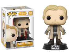Pop! Solo: A Star Wars Story - Tobias Beckett (Coat & Pistols) Exclusive
