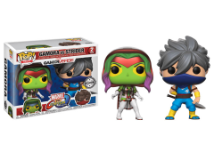 Pop! Games: Marvel Vs. Capcom: Infinite - Gamora Vs Strider Exclusive