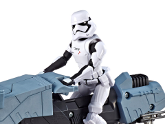 Star Wars Galaxy of Adventure First Order Driver & Treadspeeder (The Rise of Skywalker)