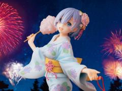 Re:Zero Starting Life in a New World Rem (Yukata Ver. Repaint) 1/7 Scale Figure