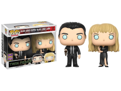 Pop! TV: Twin Peaks - Black Lodge Cooper and Laura Exclusive Two-Pack