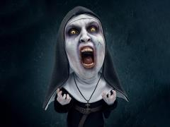The Nun Deform Real Valak (Open Mouth)