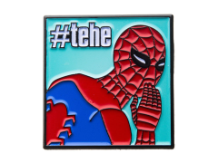 Marvel Spider-Man 60's Show #tehe Laughing Meme Pin