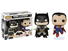 Pop! Heroes: Batman v Superman - Batman vs Superman Exclusive Two-Pack