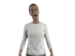 The Walking Dead Collector's Models #33 Sasha