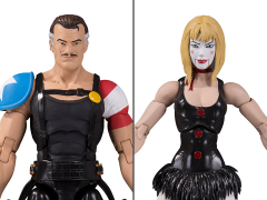 Watchmen Doomsday Clock The Comedian & Marionette Two-Pack