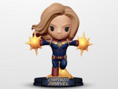 Avengers: Endgame Go Big Captain Marvel Figure