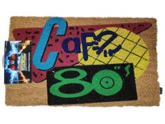 Back to the Future Cafe 80's Door Mat