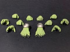 Mythic Legions: Arethyr Hands & Feet (Green Orc)