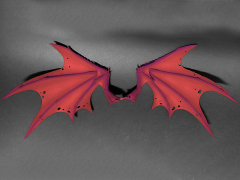 Mythic Legions: Arethyr Demon Wings (Red)