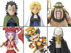 One Piece World Collectable Figure Revolutionary Army Box of 6 Figures
