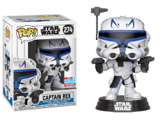 Pop! Star Wars: The Clone Wars - Captain Rex Exclusive
