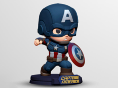 Avengers: Endgame Go Big Captain America Figure