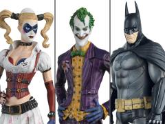 Batman: Arkham Asylum Figurine Collection Three-Pack