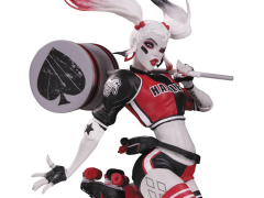DC Comics Red White & Black Harley Quinn Statue (Babs Tarr)