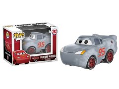 Pop! Disney: Cars 3 - Lightning McQueen (Gray Version) Exclusive
