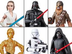 Star Wars Galaxy of Adventure Wave 1 Set of 6 Figures