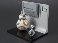 Star Wars BB-8 & D-O (Rise of Skywalker) 1/12 Scale Model Kit