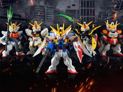 Gundam FW Gundam Converge: Core Gundam W Endless Waltz Operation Meteor Box of 5 Exclusive Figures