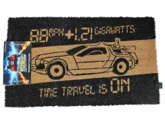 Back to the Future Time Machine Door Mat
