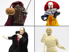 "Horror Wave 3 Set of 4 Mego 8"" Figures"