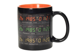 Back to the Future Control Panel Mug