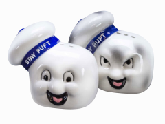 Ghostbusters Stay Puft Salt and Pepper Shakers