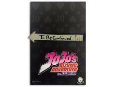 JoJo's Bizarre Adventure To Be Continued Enamel Pin