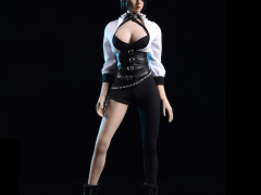 White Shirt & Tight Pants 1/6 Scale Accessory Set