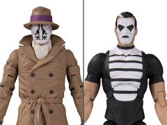 Watchmen Doomsday Clock Rorschach & Mime Two-Pack