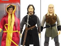 "Rocky & The Lord of the Rings Set of 3 Mego 8"" Figures"