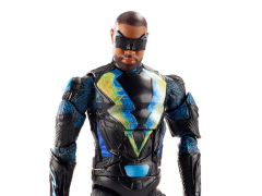 DC Comics Multiverse Black Lightning Figure (Collect & Connect Ninja Batman)