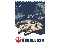 Star Wars Rebels for Victory Limited Edition Art Print