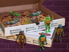 TMNT ReAction Pizza Box of 4 SDCC 2019 Exclusive Figures