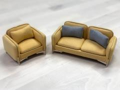 Extreme-Sets Furniture Collection 1/12 Scale Vintage Couch Set