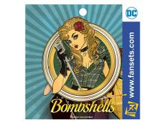 DC Comics Bombshells Black Canary Pin