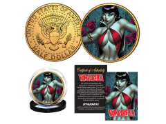 Vampirella Collectible Gold Plated Coin (Campbell)