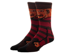 A Nightmare on Elm Street Freddy Krueger Crew Socks