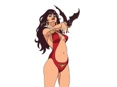Vampirella 50th Anniversary Collectible Pin (Jose Gonzalez)