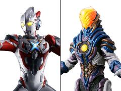 Ultraman Luminous Premium Ultraman X & Greeza Exclusive Set