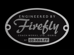 Firefly Engineered by Firefly Sticker