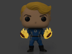 Pop! Marvel: Specialty Series Fantastic Four - Human Torch (Suited) Glow-in-the-Dark