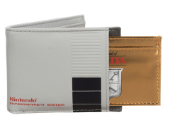 Nintendo 2-in-1 Bi-Fold Wallet & The Legend of Zelda Cartridge Card Holder