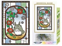 My Neighbor Totoro 126-AC07 Blooming Camellia Artcrystal 126-Piece Puzzle