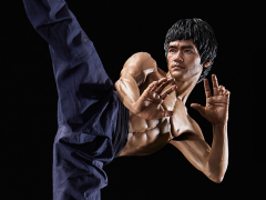 Bruce Lee Tribute Statue