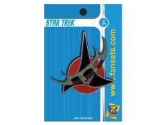 Star Trek TrekTech Klingon Bat'leth Pin