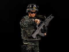 PAP People's Armed Police 1/6 Scale Figure