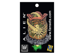 Alien Facehugger Pin